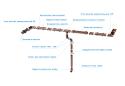 Заглушка ринви ринви Полівент 125 мм коричневий