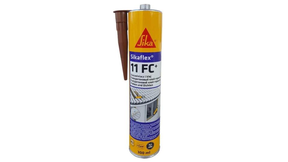 Клей-герметик Sika Sikaflex - 11FC+ коричневий, 300 мл