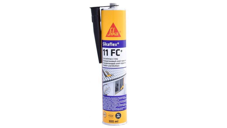 Клей-герметик Sika Sikaflex - 11FC+ чорний, 300 мл