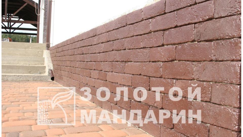 Штучний камінь Золотой Мандарин Клінкер Агора