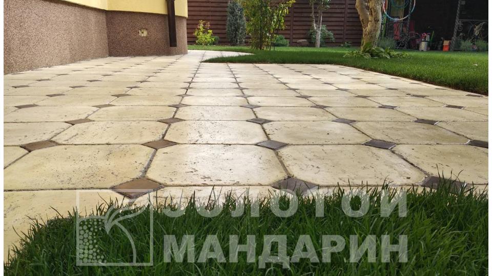 Терасна плитка Золотой Мандарин Тіволлі ваніль / арабіка