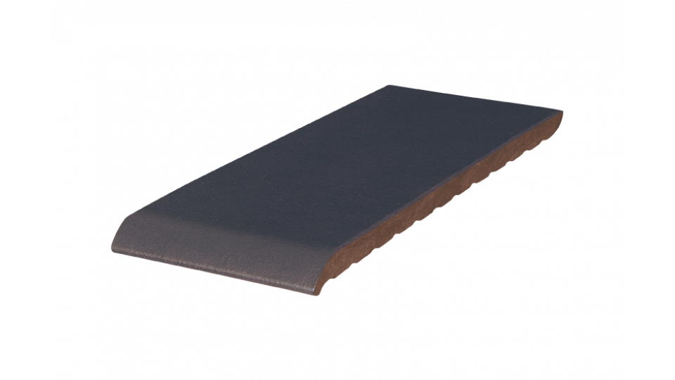 Клінкерна плитка для підвіконників KingKlinker 350х120х15 Polar night 08