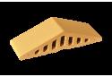 Профільна клінкерна цегла для огорожи (закруглений) 310/250х100х78 KingKlinker Desert rose 10