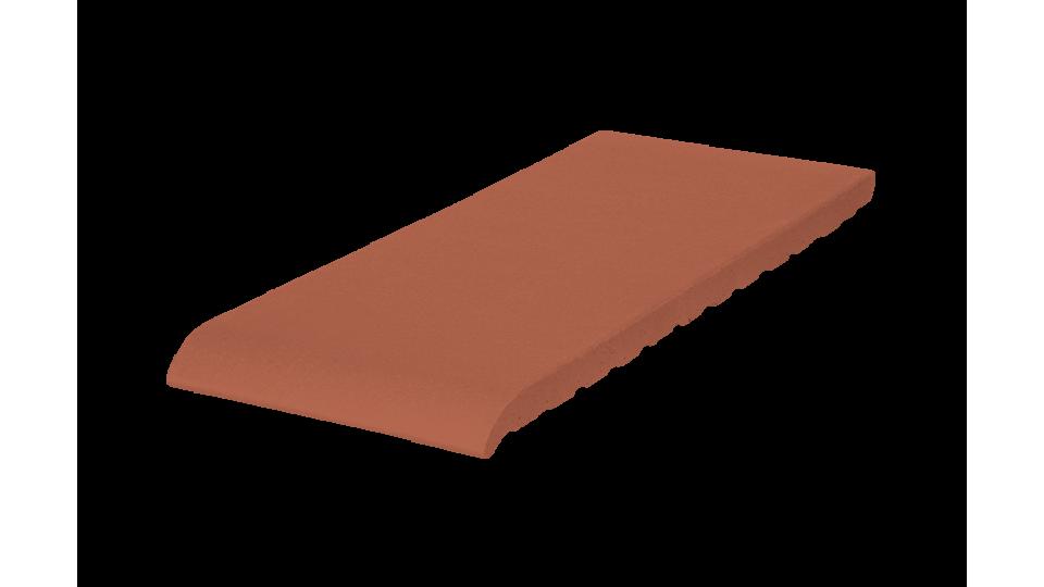 Клінкерна плитка для підвіконників KingKlinker 245х120х15 Ruby-red 01