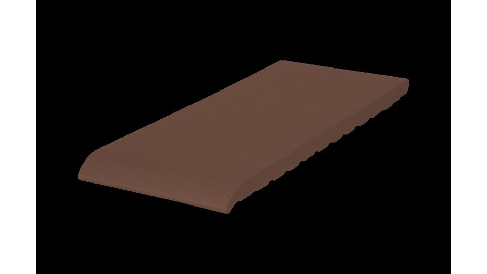 Клінкерна плитка для підвіконників KingKlinker 350х120х15 Natural brown 03