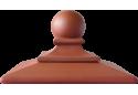 Кришка для стовпчика клінкерна KingKlinker Ruby-red 01 ROYAL