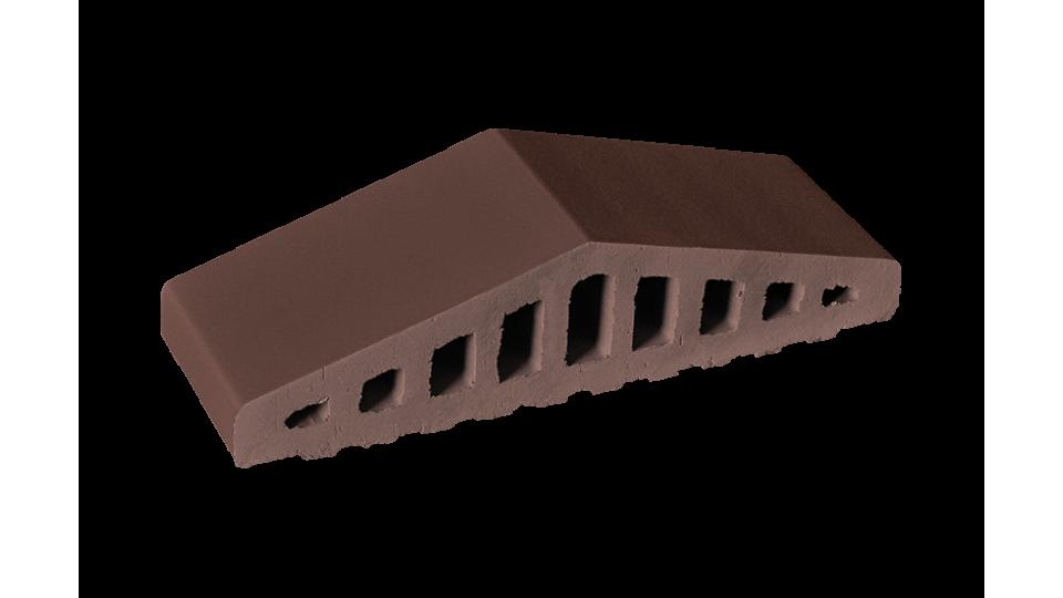Профільна клінкерна цегла для огорожи 310/250х100х78 KingKlinker Natural brown 03
