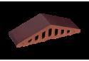 Профільна клінкерна цегла для огорожи (закруглений) 310/250х100х78 KingKlinker The crimson island 07