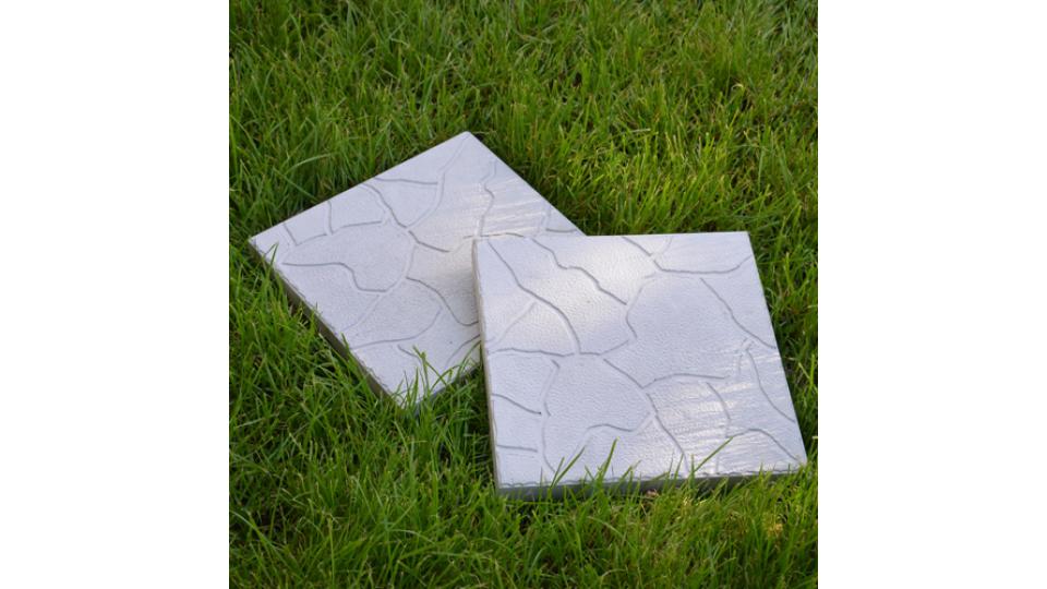 Тротуарна плитка Хмарка 3 см, сірий