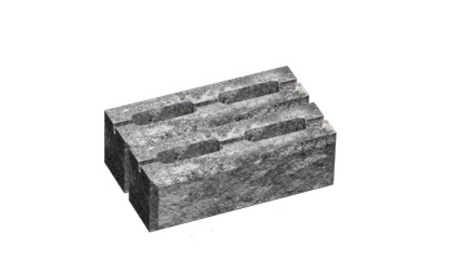 Заборний блок декоративний Золотий Мандарин 300х200х100 мм грейс