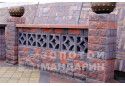 Заборний блок декоративний Золотий Мандарин 300х300х100 мм болонья