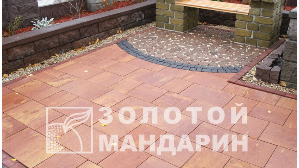 Бруківка Модерн 6 см, флоренція