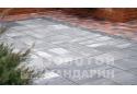 Тротуарна плитка Золотой Мандарин Моноліт 8 см, грейс
