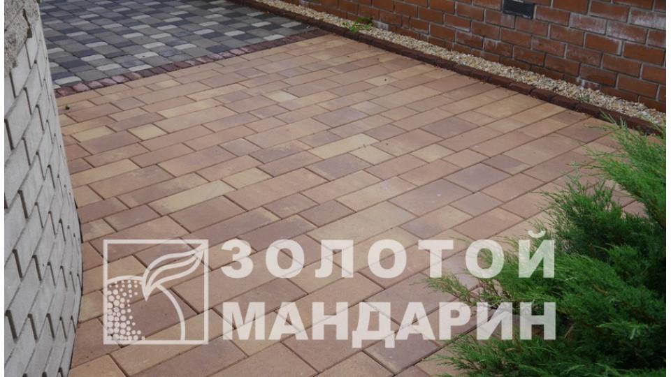 Тротуарна плитка Золотой Мандарин Паттерн 6 см, аріано