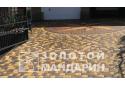 Бруківка Старе місто 6 см, жовтий