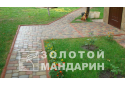 Тротуарна плитка Золотой Мандарин Старе місто 4 см, червоний