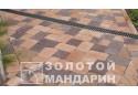 Тротуарна плитка Золотой Мандарин Стара площа 6 см, коричневий