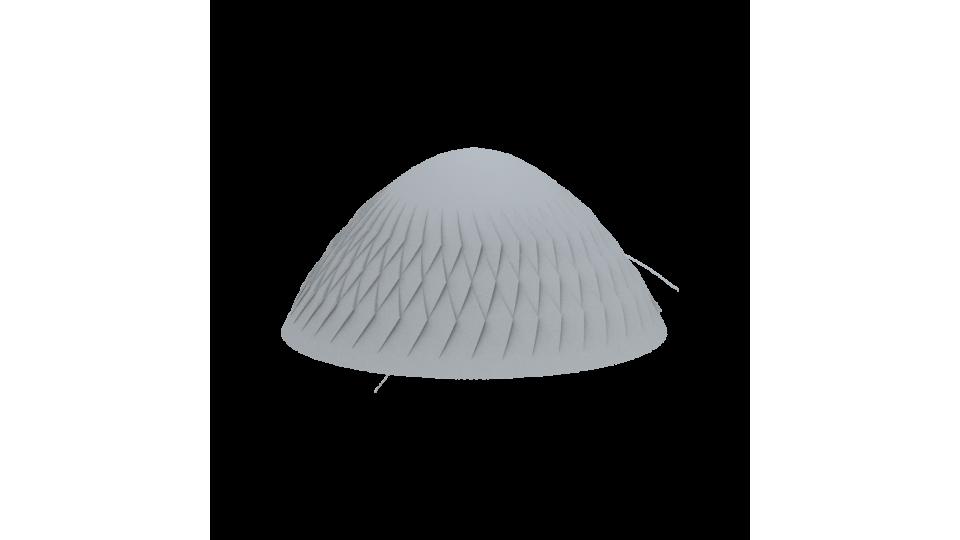 Обмежувач руху Золотой Мандарин Броте Барселона 230х485 мм, сірий
