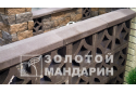 Кришка для стовпчика Золотой Мандарин 48х48, сіра