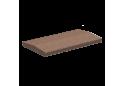 Кришка для парапету Золотой Мандарин 50х18, коричнева