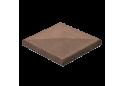Кришка для стовпчика Золотой Мандарин 48х48, коричнева