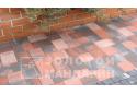 Тротуарна плитка Золотой Мандарин Плац 6 см, коричневий