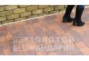 Тротуарна плитка Золотой Мандарин Плац 6 см, сієна
