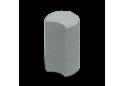 Стовпчик круглий Золотой Мандарин 8 см, сірий