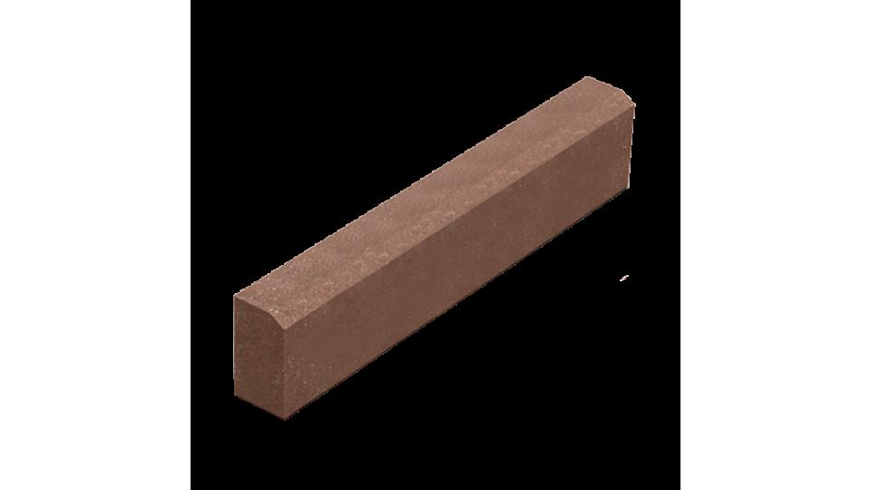 Поребрик Золотой Мандарин 8 см, коричневий