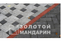 Поребрик квадратний Золотой Мандарин 8 см, коричневий