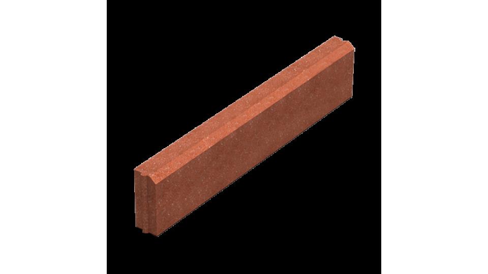 Поребрик Золотой Мандарин 6 см, червоний