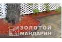 Стовпчик круглий Золотой Мандарин 8 см, коричневий