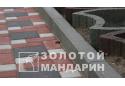 Поребрик Золотой Мандарин 8 см, сірий