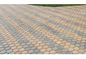 Тротуарна плитка Золотой Мандарин Сота 6 см, сірий