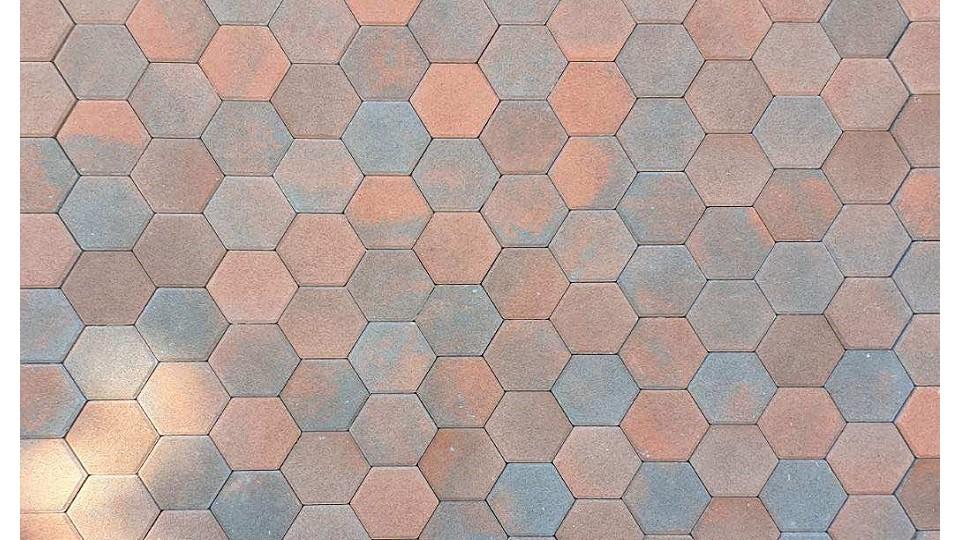 Тротуарна плитка Золотой Мандарин Сота 6 см, болонья