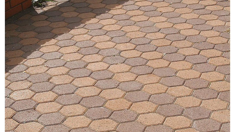 Тротуарна плитка Золотой Мандарин Сота 6 см, коричневий
