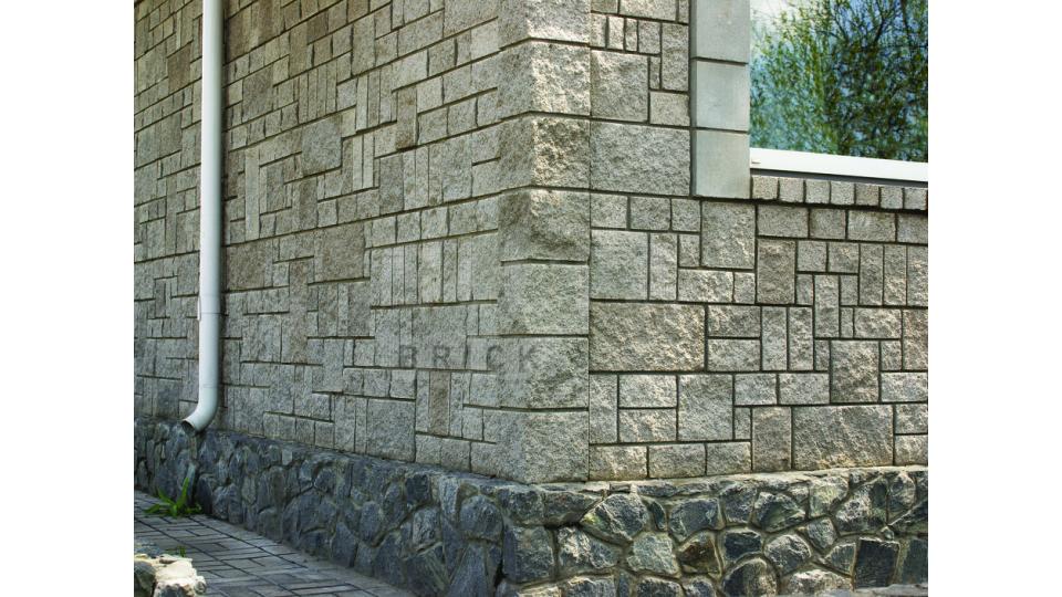 Цокольна плитка Silta-Brick 390×190x70 чорний
