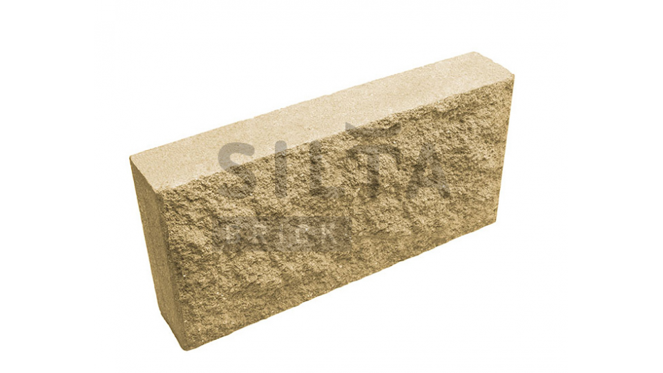 Цокольна плитка Silta-Brick 390×190x70 жовтий