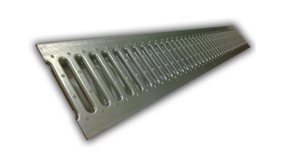 Решітка Ecoteck стальна штампована100 Standartм