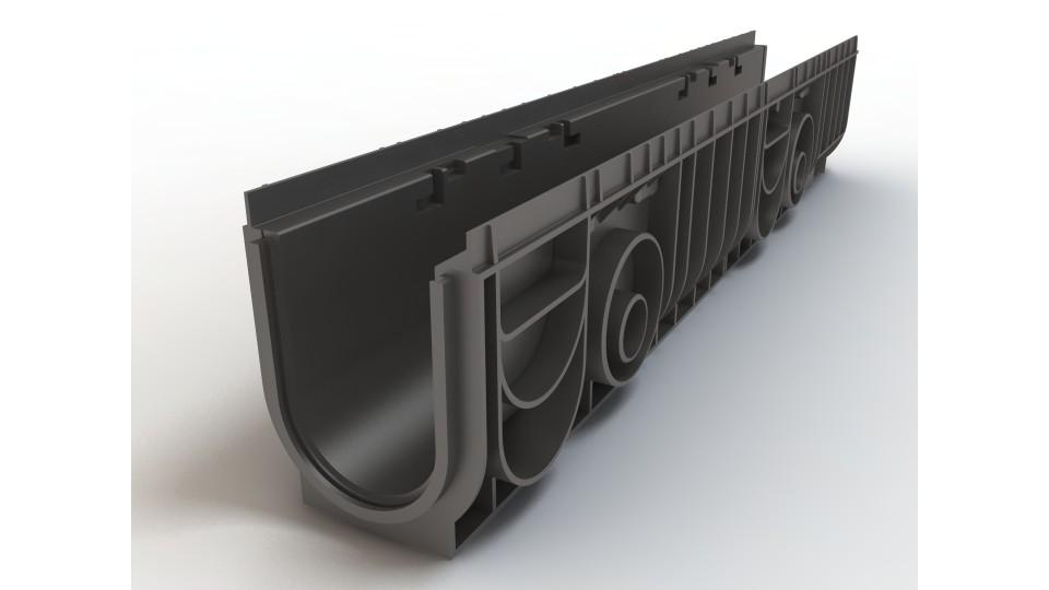 Лоток Ecoteck пластиковий 100.175 h195 Medium