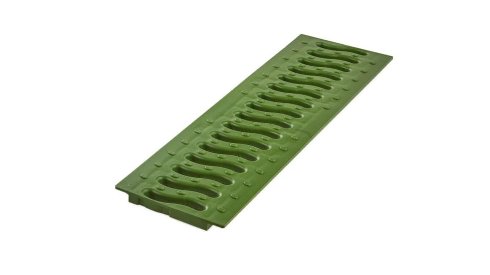 Решітка Ecoteck пластикова Хвиля (зелена папороть) 100 Standart