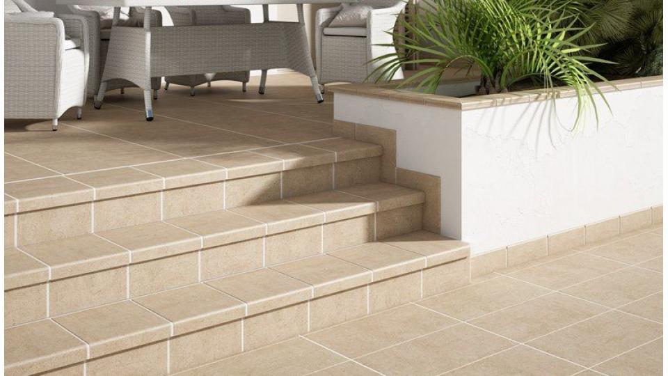 Клінкерна плитка для підлоги Gresmanc Beige 299x299