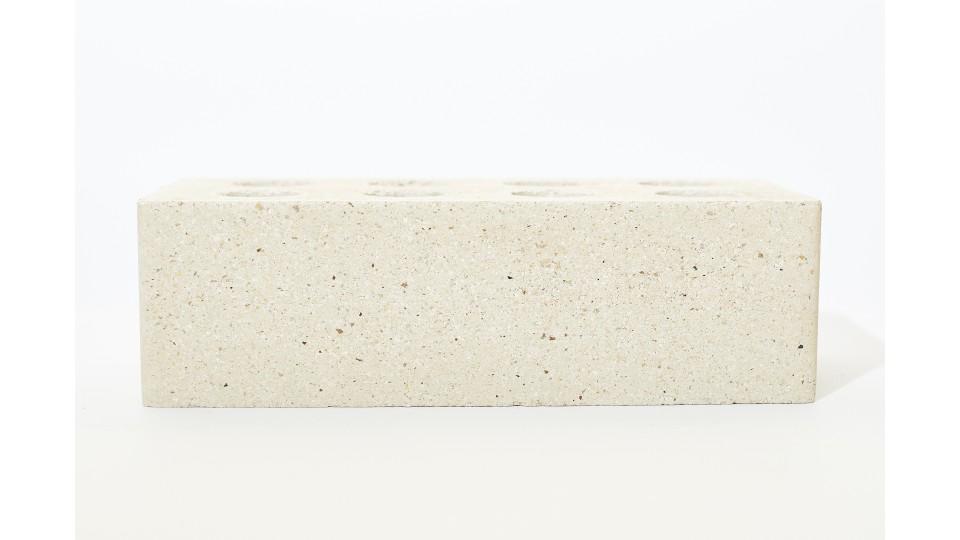 Цегла Літос Магма (Шкіра) біла, євростандарт
