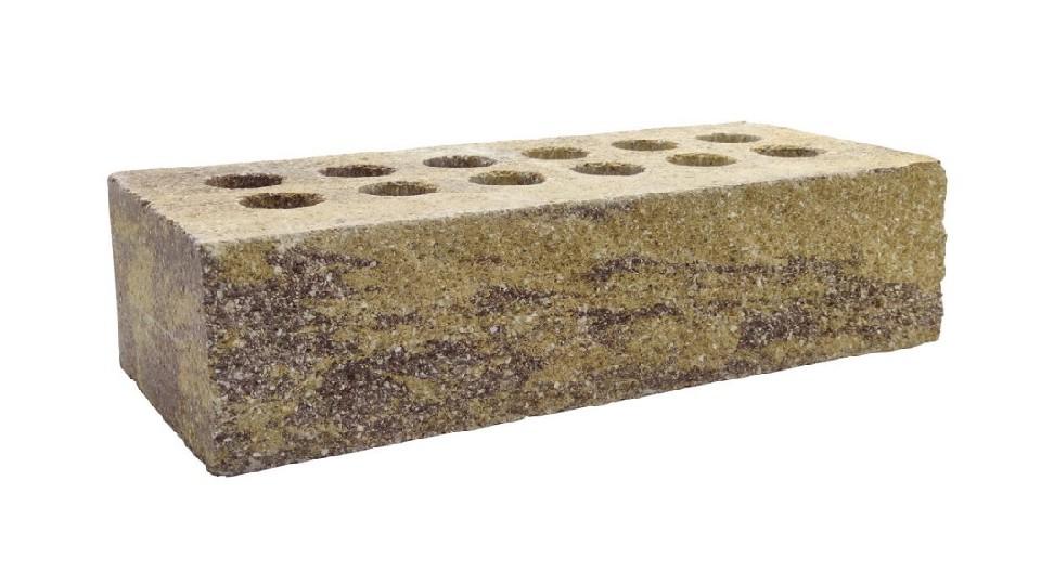 Цегла Літос Колота Маракеш (коричнево-жовтий), стандарт