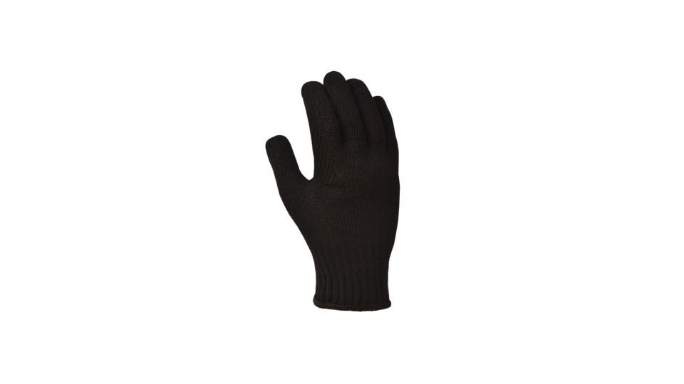Рукавички трикотажні чорні Стандарт ДОЛОНІ 10315
