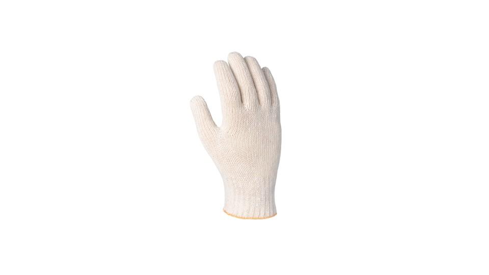 Рукавички трикотажні білі Стандарт ДОЛОНІ 547