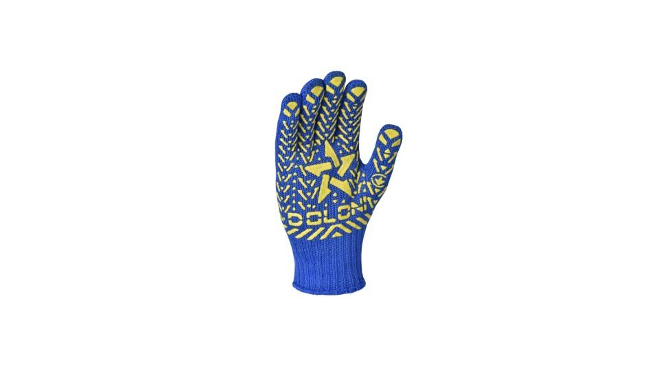Рукавички трикотажні сині Зірка ДОЛОНІ 587