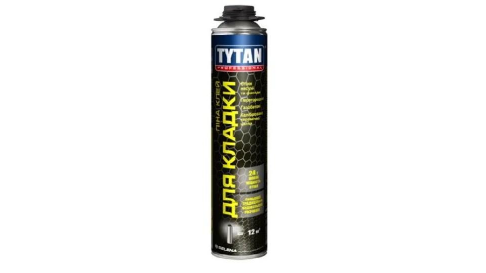 Клей-піна для кладки газоблоку Tytan Professional, 870 мл