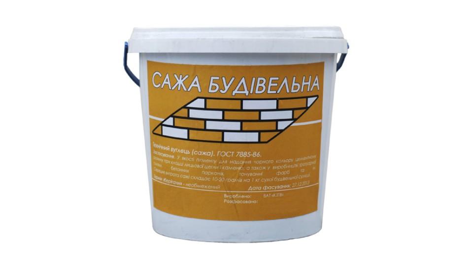 Будівельна сажа, технічний вуглець , 9 кг